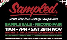 Sampled – Sicker Than Your Average Sample Sale - Nov 29th