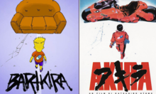 Akira Comics With Simpsons Characters