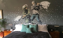 Banksy's Hotel In Bethlehem Launches Instagram Account