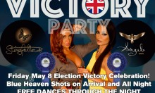 Peter Stringfellows Strip Club Conservatives Party