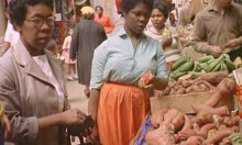 Colour Footage of Brixton Market from 1961