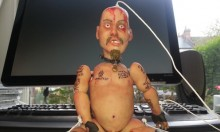 This GG Allin Marionette Puppet Will Ruin Your Day!