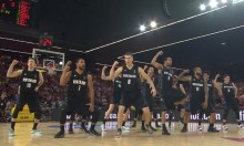New Zealand's Basketball Haka, Featuring The World's Most Confused Americans