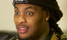 Waka Flocka Flame Wipes His Bare Arse On Donald Trump Jersey