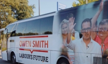 Owen Smith's Battle Bus Provides Further Humiliation For Labour Leadership Contender