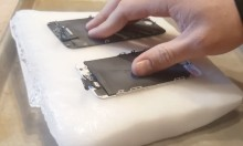 Repairing Phones With Dry Ice