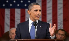 Barack Obama Roastin' Fools At The SOTU Address