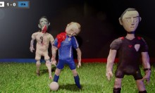 Horrifying Suarez Zombie Claymation