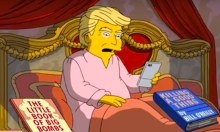The Simpsons Darkly Satirises Donald Trump's First 100 Days In Power