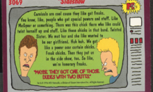 Beavis And Butthead Trading Cards: The Other Side