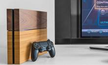 A Wooden Cover for the PlayStation 4