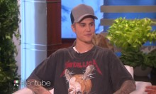 Bieber Wears Metallica T-Shirt, Butthurt Ensues
