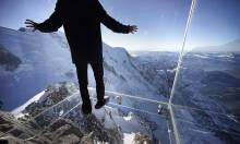 A Glass Box 3,000ft Above the French Alps