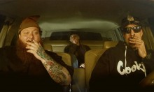 Watch Action Bronson, B-Real and The Alchemist Hotbox a Car