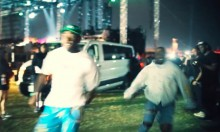 Kanye West And Tyler The Creator Had A Foot Race At Coachella