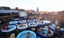 The Return Of Hot Tub Cinema