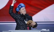 Comedian Stephen Colbert Pranks U.S. Republican National Convention