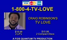 TV Love By Craig Robinson