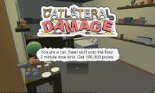 Catlateral Damage, A First-Person Cat Simulator About Destroying Your Owner's Possessions