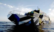 "Dakis Joannou's ""Guilty"" Yacht by Jeff Koons and Ivana Porfiri"