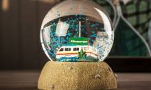 A Knock Off Breaking Bad Snow Globe