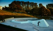 The UK's First Glow In The Dark Skatepark Opens In Liverpool