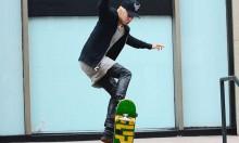 Justin Bieber's Skateboard Skills