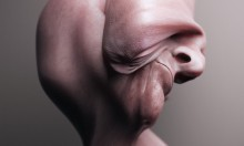 Terrifying Portraits Of Warped Fleshy Heads