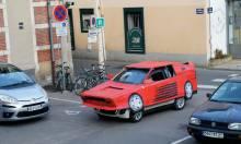A Cardboard Ferrari