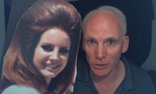 Man Has Youtube Channel Dedicated To Interviews With Cardboard Cutout Of Lana Del Rey
