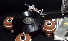 LEGO Record Player