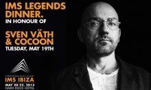 IMS Legends Dinner In Honour of Sven Vath & Cocoon
