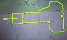 Runner Draws Dicks And Other Stuff Using Her Nike+ Gadget