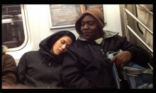 Falling Asleep On Strangers On The Subway