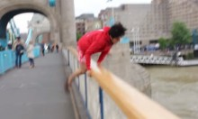 Impossible Bellend Jumps Off Tower Bridge
