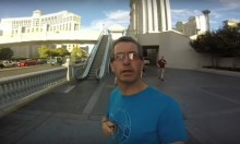 Irish Dad Films Entire Vegas Holiday With GoPro Facing Wrong Direction
