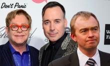Will Lib Dems Leader Tim Farron Buddy Up To David Furnish and Elton John?!