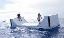 Volcom's Floating Ramp