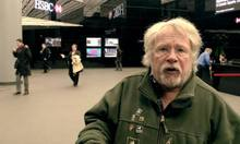 Bill Oddie Getting Chucked Out Of HSBC