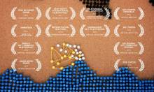 A Girl Named Elastika, An Animation Using Rubber Bands and Thumbtacks