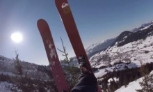 One Of Those Days - An Increasingly Insane Skiing Video