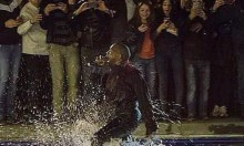 Holy Kanye Wades In The Water