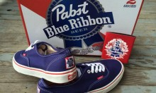 Pabst Blue Ribbon X Vans Collab