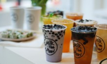 Bubble Tea At Milk, Tea & Pearl