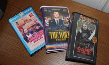 Modern Movies on Old School VHS