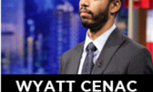 Wyatt Cenac off of The Daily Show