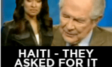Haiti - they asked for it (According to Pat Robertson)