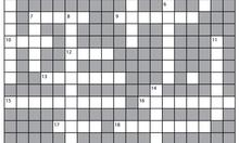 Swear-Word Crossword