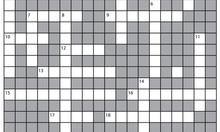 Swear-Word Crossword