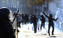 Protests Rise in France